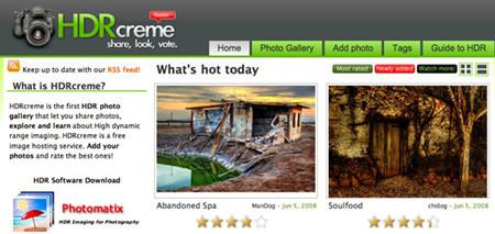 HDRCreme: una especie de 'Flickr' para imágenes HDR
