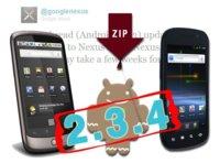 La actualización OTA de Android 2.3.4 Gingerbread para Nexus S y Nexus One ya está disponible
