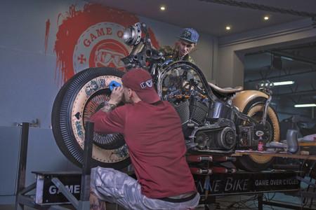 Harley Davidson Tatuaje 4