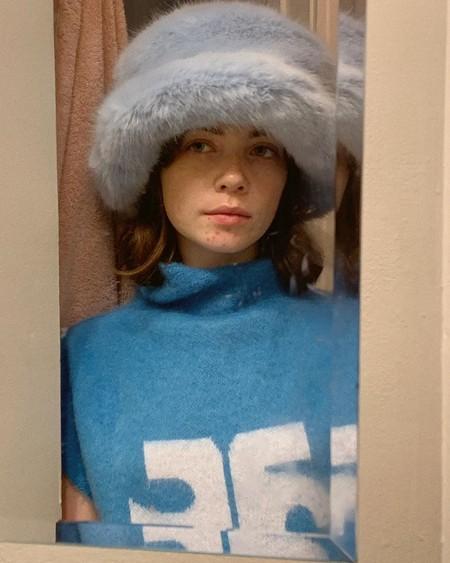 Emma Brewin Fur Faux Hat 04