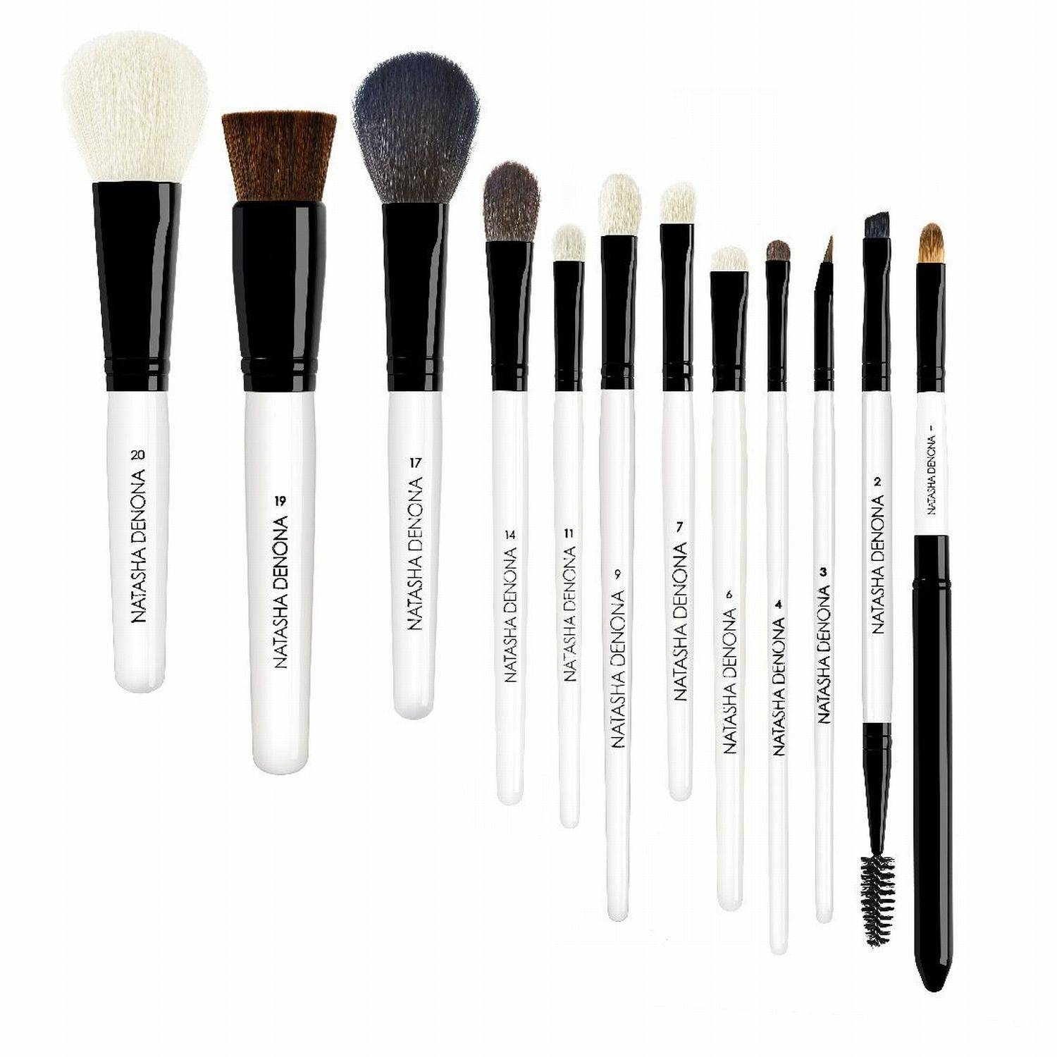 NATASHA DENONA Brush Set Basic Set de 12 brochas y pinceles