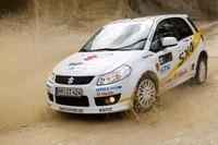 Un Suzuki SX4 WRC para surcar las calles