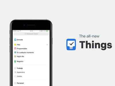 Things para iOS y macOS se actualiza, ahora permite enviar tareas desde un correo, crear workflows y automatizaciones