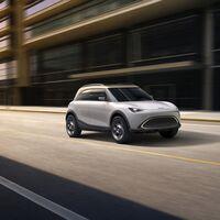 El smart Concept # 1 anticipa el primer SUV eléctrico de la marca... ¡y es igual de grande que un MINI Countryman!