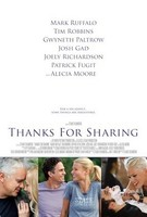 'Thanks for Sharing', tráiler y cartel