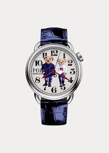 Reloj Ralph & Ricky Bear de acero