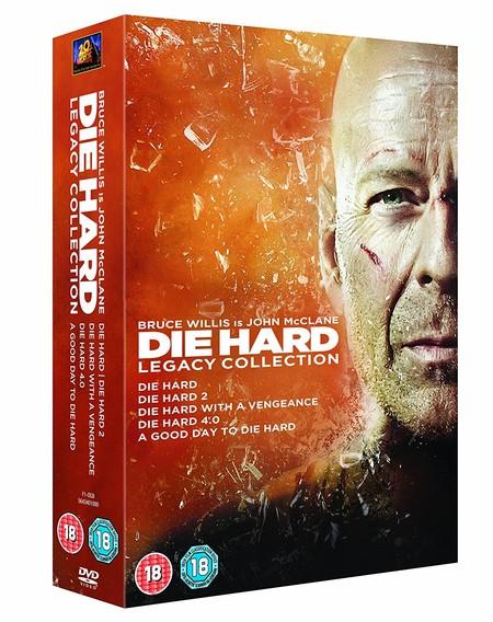 Las 5 películas de la saga Jungla de Cristal, en Blu-ray, por 15,75 euros