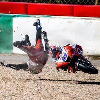 Jorge Martín sufrió una caída de 26 G, la tercera más dura de la historia de MotoGP, y tampoco estará en Le Mans