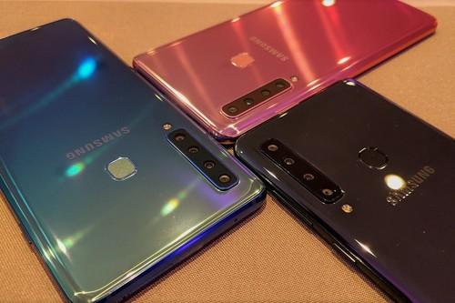 Samsung Galaxy A9 y Galaxy A7, primeras impresiones: probamos el primer smartphone del mundo con cuatro cámaras traseras