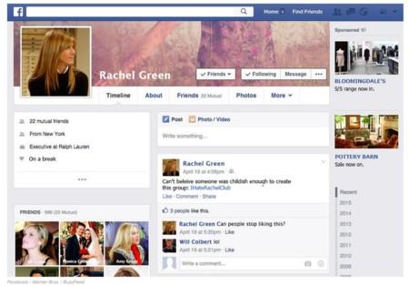 Rachel y Facebook