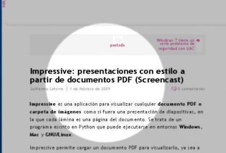 Impresive: Crea presentaciones con tus archivos pdf