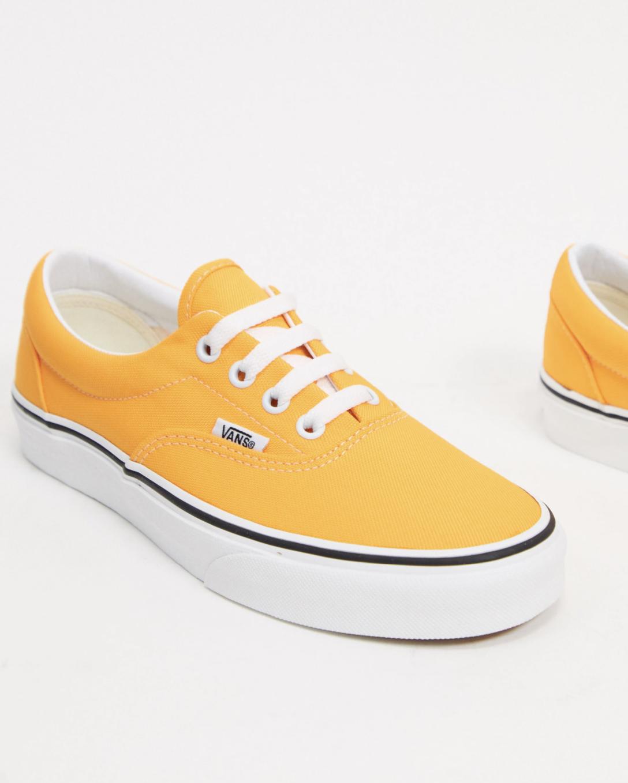 Zapatillas amarillas de lona Era de Vans