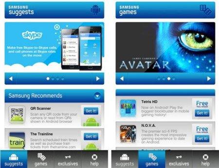 Samsung Hub, recomendaciones de aplicaciones Android de mano de la propia Samsung