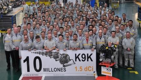 Renault celebra el motor K9K (1.5 dCi) número 10 millones