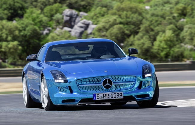 Mercedes-Benz SLS AMG Coupé Electric Drive 03