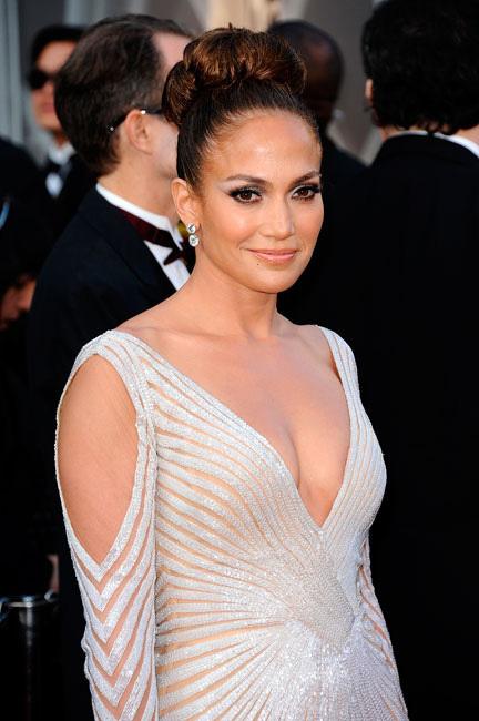 Jennifer Lopez moño