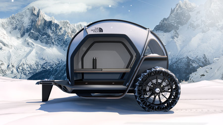 Futurelight Camper Concept, por BMW y The North Face