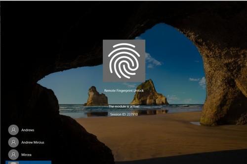 Este método se sirve del lector de huellas en los móviles con Android para poder desbloquear a distancia el PC