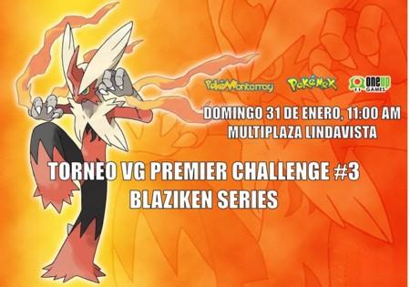 Resultados del Premier Challenge Blaziken Series #3 en Monterrey