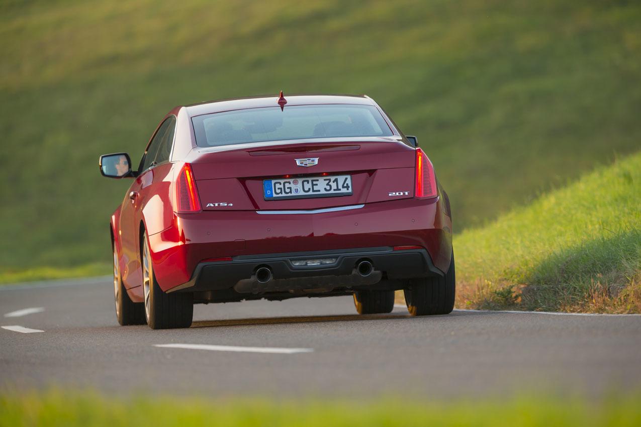 Foto de Cadillac ATS Coupé Europeo (8/33)