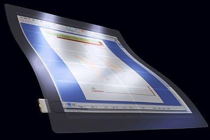 El futuro: monitores transparentes (con tecnología OLED)