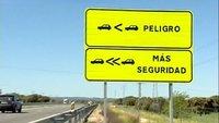 Aprobadas por la Comisión de Seguridad Vial del Congreso las señales de distancia de seguridad