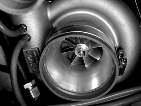 Compresor de un turbo
