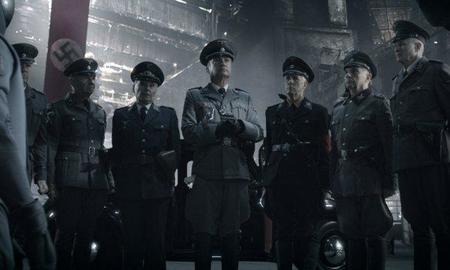Los altos mandos nazis de la película