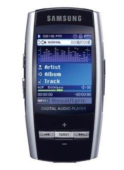 Tu mundo multimedia en un bolsillo con el Samsung YP-T8A