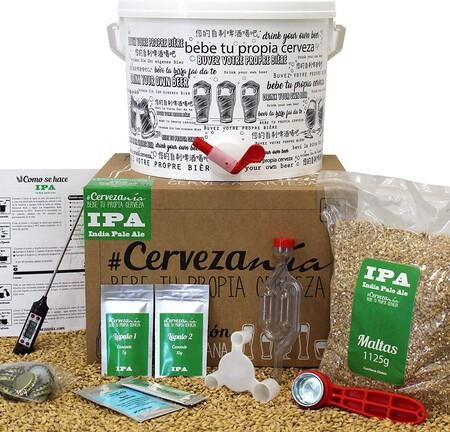 Kit De Elaboracion De Cerveza Artesana India Pale Ale Ipa
