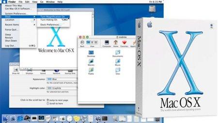 La beta de Mac OS X cumple 10 años