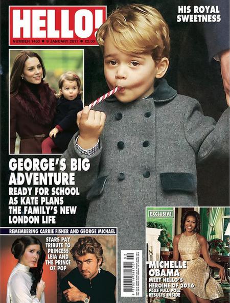 George, Charlotte y lo monos que son los dos
