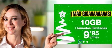 Amena amplía todas sus tarifas de datos por Navidad y algunas para siempre
