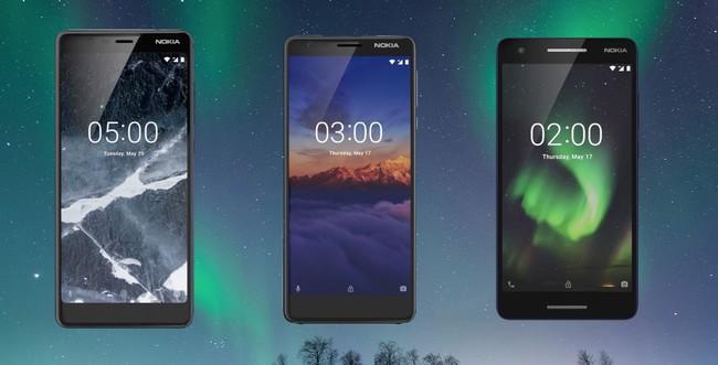 Nokia 5.1, Nokia 3.1 y Nokia 2.1: así ha evolucionado la gama media y de entrada de Nokia en 2018