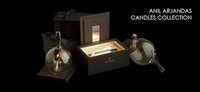 Anil Arjandas sorprende con su primera colección de velas perfumadas