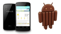Nexus 4 recibe Android 4.4 (KitKat). Disponible su actualización manual