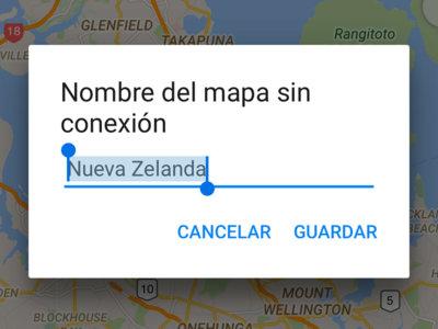 Mapas sin conexión con navegación y búsquedas en Google Maps para iOS