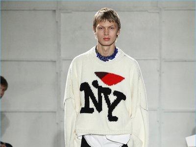 Raf Simons le declara su amor a NY en su colección FW 17