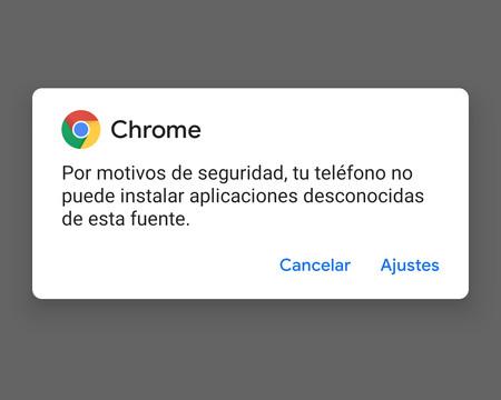 Android Q Beta te desactiva la opción de instalar aplicaciones desconocidas tras usarla