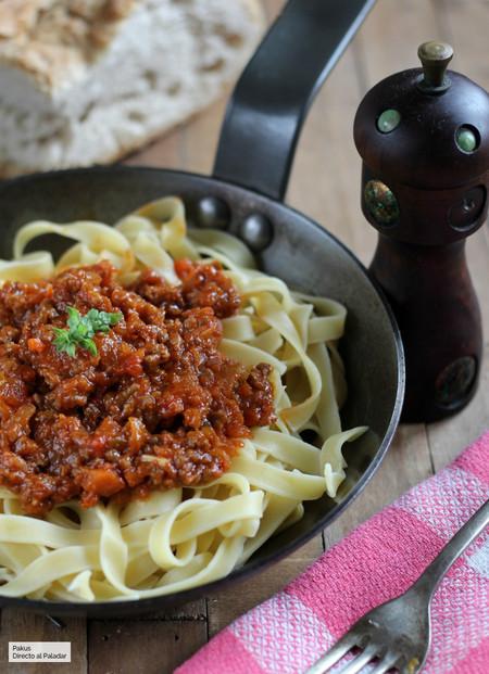 receta original de la salsa boloñesa