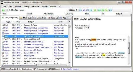 Lookeen, complemento para Outlook que nos permite buscar y organizar mejor el correo