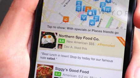 Foursquare lanza sus anuncios para atraer a los clientes cercanos a los comercios