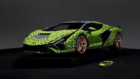 Lamborghini Sián FKP 37, la réplica tamaño real creada por Lego con más de 400,000 piezas