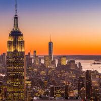Atardecer en Nueva York