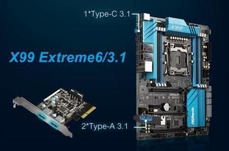 Asrock X99 Extreme6 Usb3 1 1