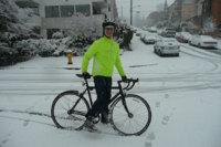 Consejos para montar en bici cuando hay nieve