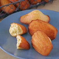 Receta de madeleines de azahar y aceite de oliva