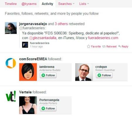 Twitter ya está activando las nuevas pestañas de Actividad y Menciones, ¿cómo funcionan?