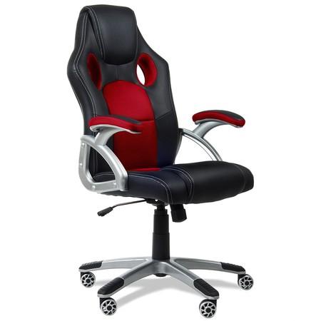 Tenemos la silla de oficina Mc Haus 9702R de estilo coche deportivo rebajada a 70,31 euros en Amazon