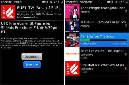 Blackberry Podcasts 1.5 amplía su campo de acción para llevar nuestros podcast favoritos al teléfono